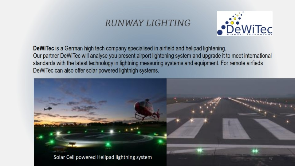 DEWITEC RUNWAY LIGHTING