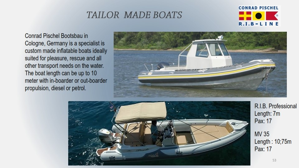 TAILOR MADE BOATS