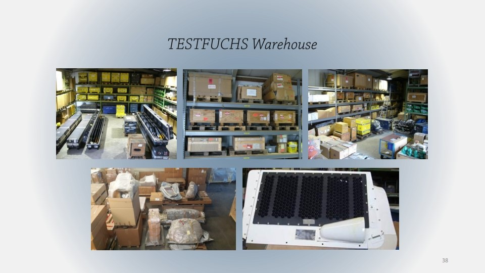 TESTFUCHS WAREHOUSE